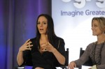Lost Girl stars Anna Silk and Zoie Palmer
