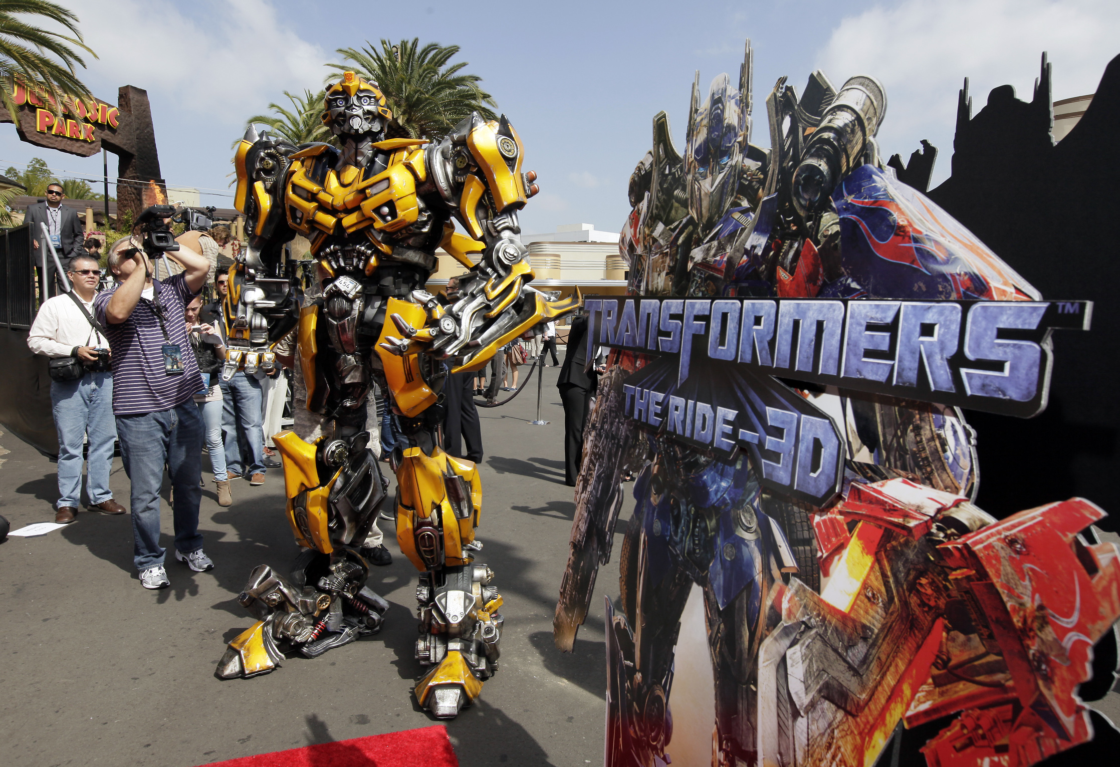 Transformers The Ride Opens At Universal Studios