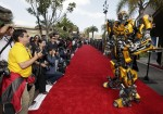 Bumblebee on the Red Carpet
