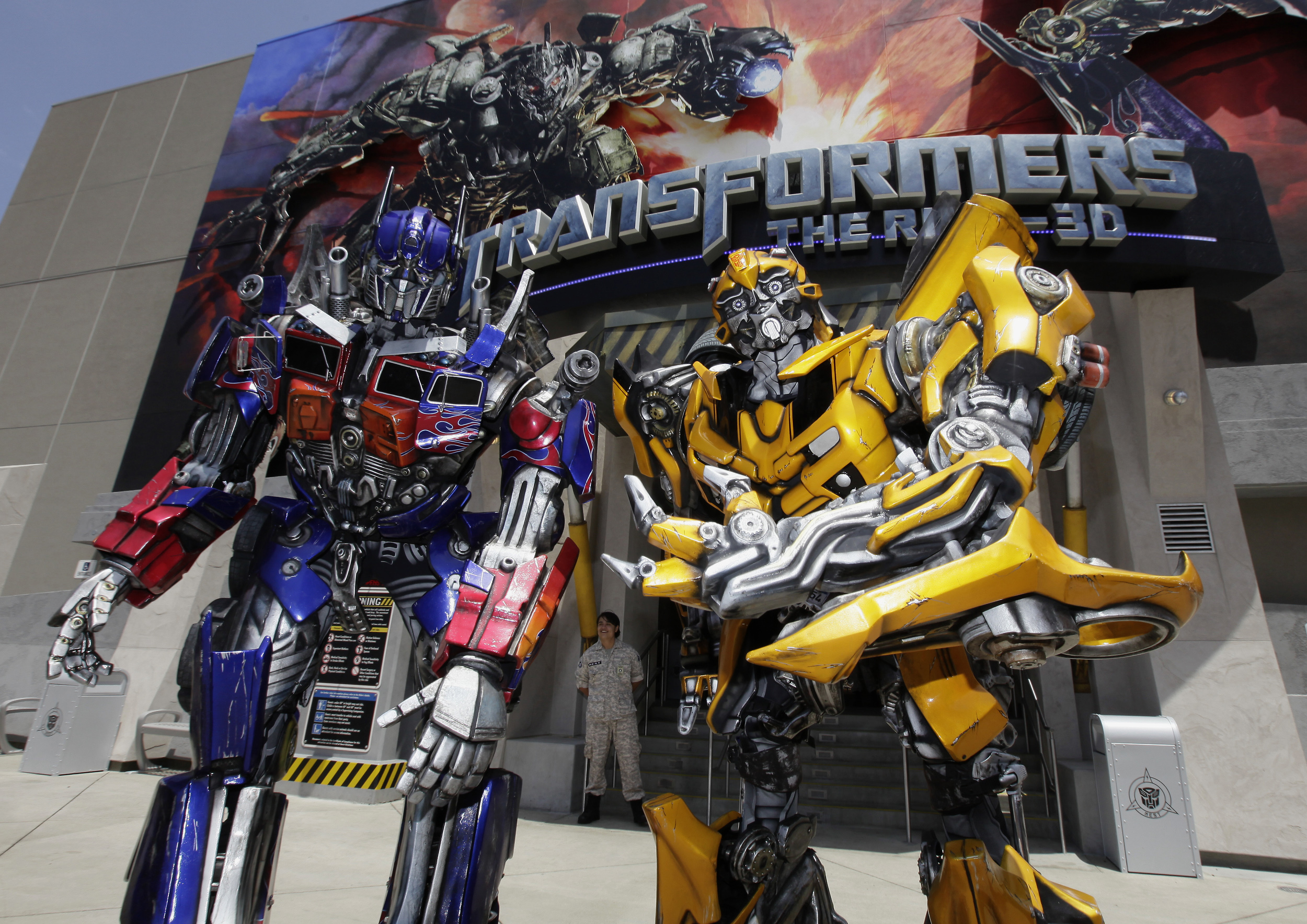 Transformers: The Ride opens at Universal Studios ...  Transformers: T...
