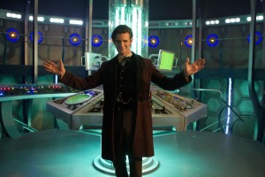 The new TARDIS interior