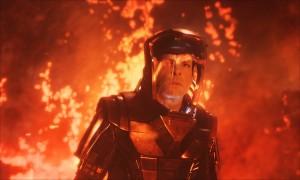 Star Trek: Into Darkness - Spock  in the volcano