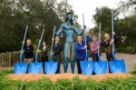 Avatar ground breaking at WDW