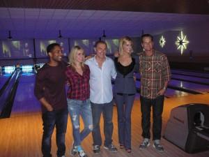 The cast of Ascension at Galaxy Bowl, Cabana Bay Resort