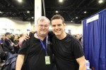 Myself with Eddie McClintock