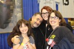 Saul Rubinek with the family