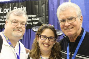 Myself and wife with Kent McCord, RICC 2015