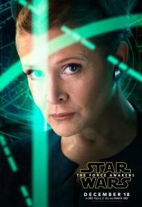 SW:TFA Poster Leia