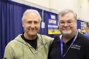 Myself with Brent Spiner