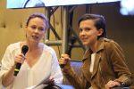 Millie Bobby Brown with Tami Stronach