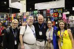 The family with Gil Gerard